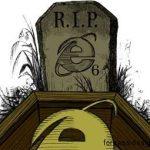 Похороны IE 6