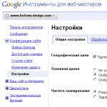 Основной домен или главное зеркало сайта
