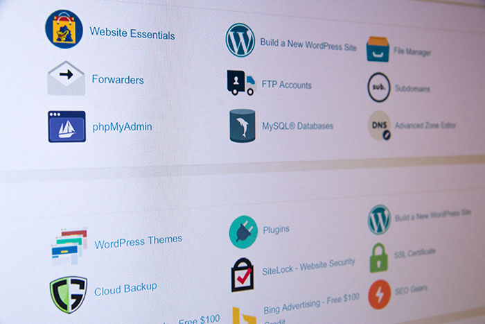 cPanel панель управления сайтом
