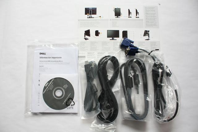 Комплект поставки монитора Dell 2209WA