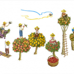 Google в честь Дня Независимости Украины заменил традиционный дудл