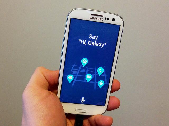 S Voice в смартфоне Galaxy S4
