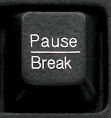 Клавиша «Pause/Break»