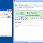 Drag and Drop в Gmail