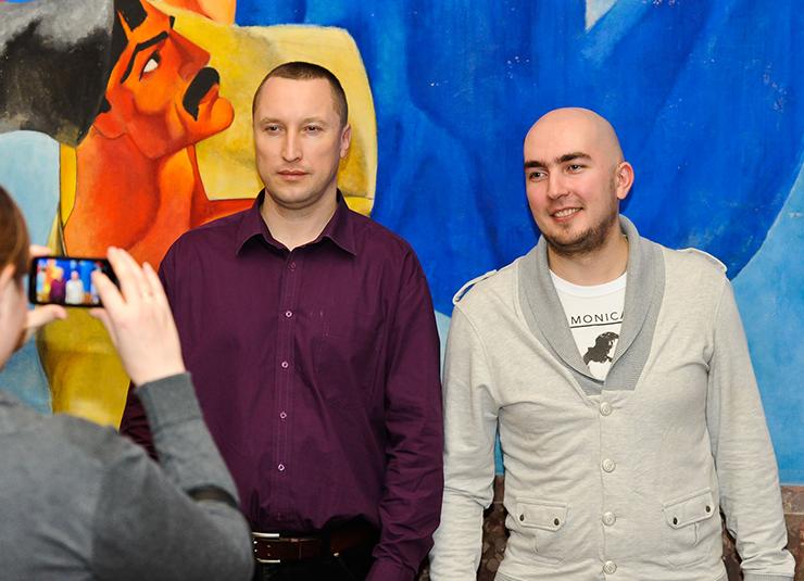 Илья Соболь и Александр Люстик