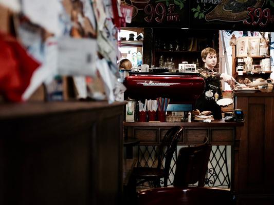 Кафе Артемия Лебедева на улице Большая Никитинская, 35