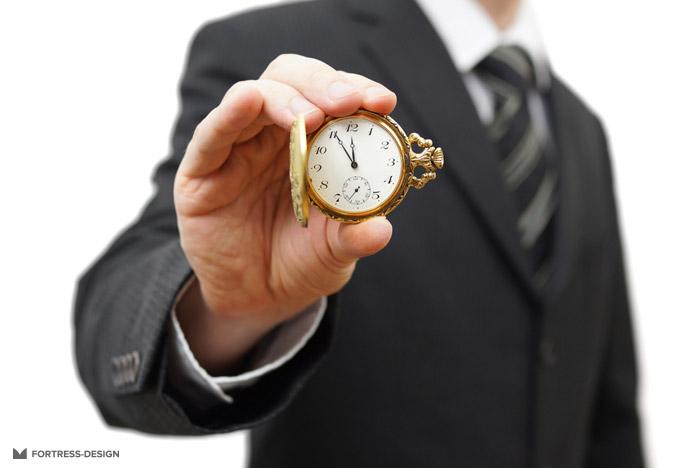 Время на выполнение задания
