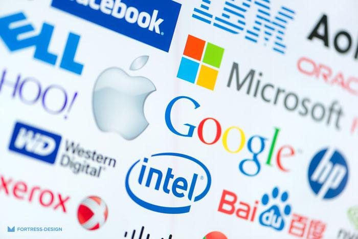 Векторные логотипы мировых брендов