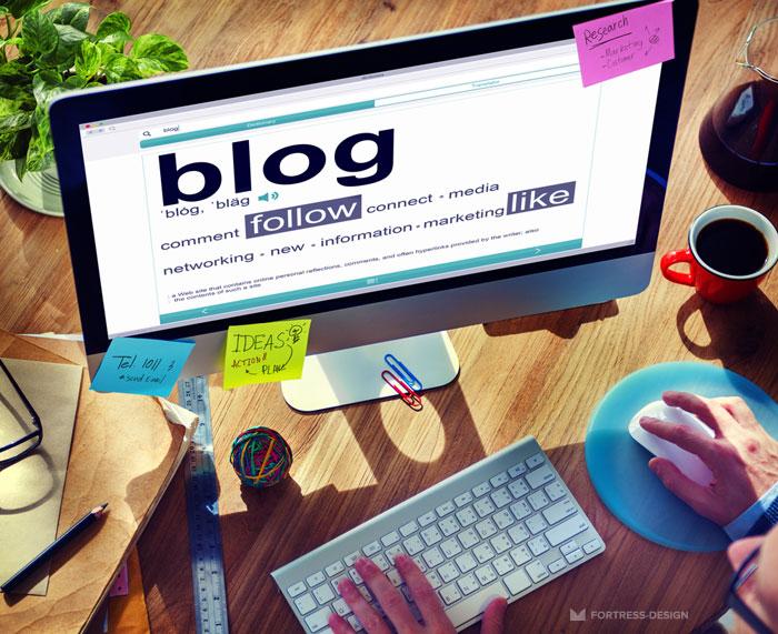 Запись в блог