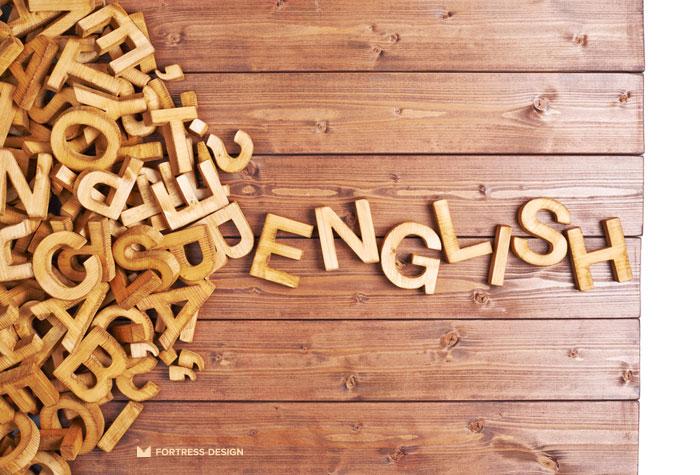 Правописание английских названий