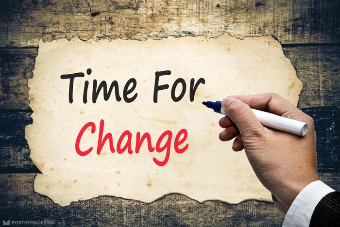 Время меняться