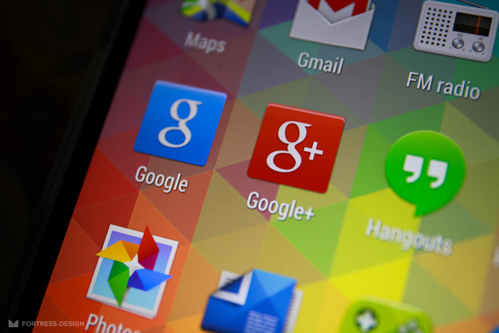 Кнопка Google+