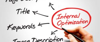 Внутренняя оптимизация веб страниц